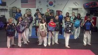 Kids Back Pack self-defense class